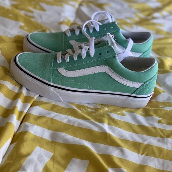 Vans Old Skool Sneaker Neptune Green NWT